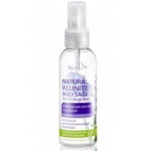 """Dezodorant do ciała w sprayu """"Naturalny ałunit i szałwia"""""""