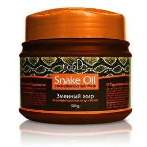 """Maska wzmacniająca do włosów z olejem wężowym """"Snake Oil"""""""