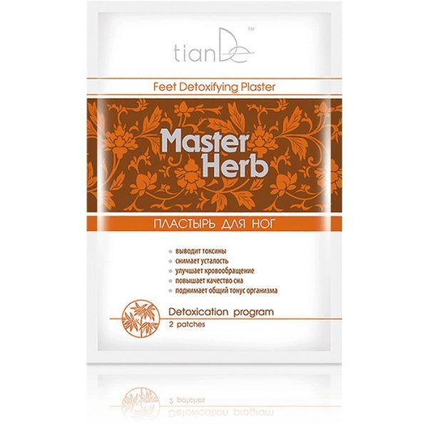 "Plastry detoksykacyjne do stóp ""Master Herb"""